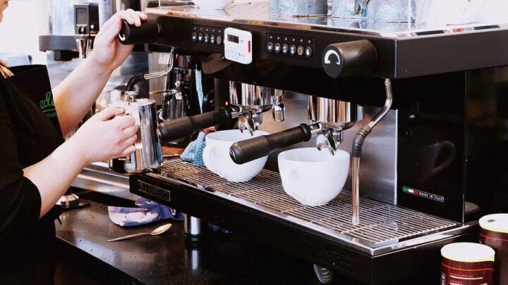 Rancilio – die elegante Kaffeemaschine