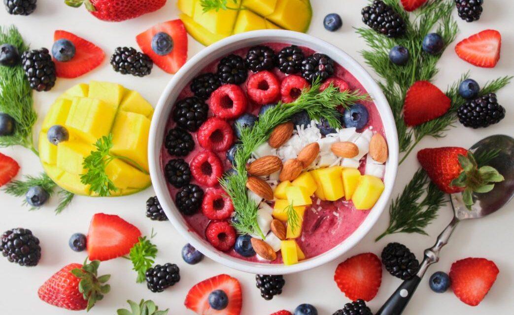 Angemessene Fahrt für Frische mit dem Obst Lieferservice